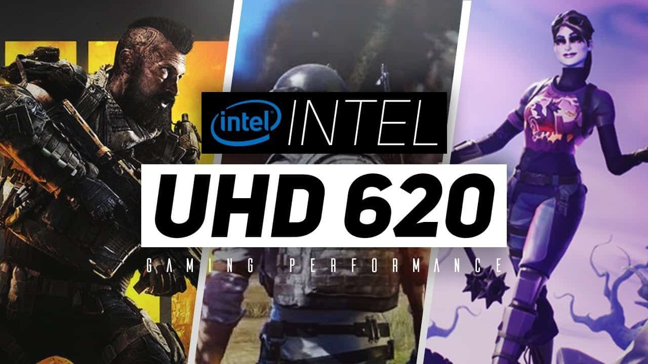 Intel UHD 620 games run
