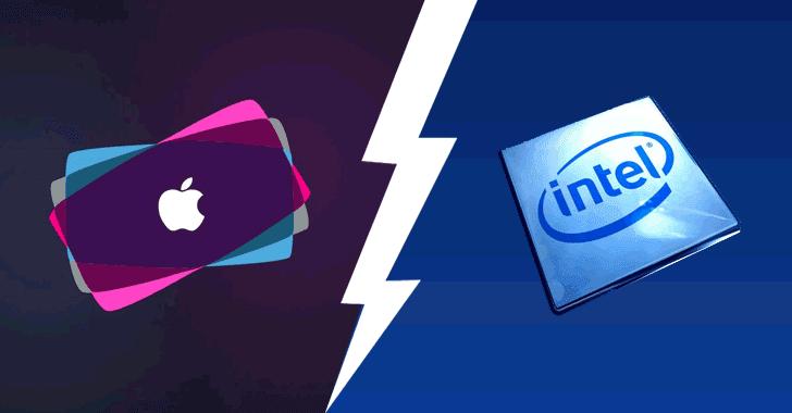 apple intel comparison