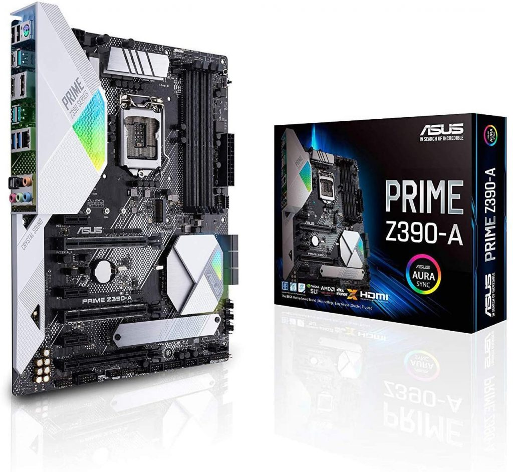 ASUS Prime Z390-A Motherboard Combo