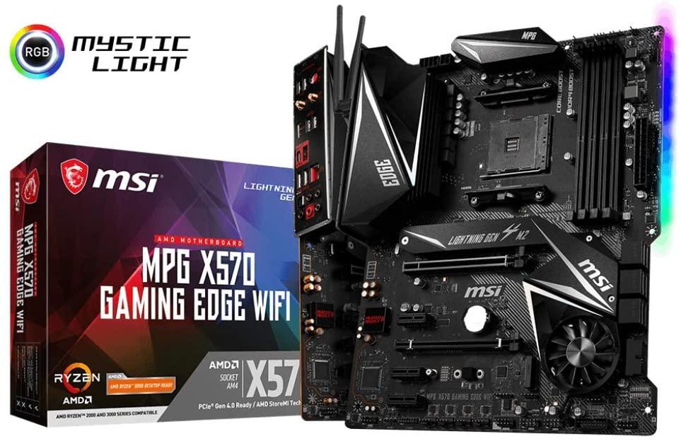 MSI MPG X570 Motherboard Combo 