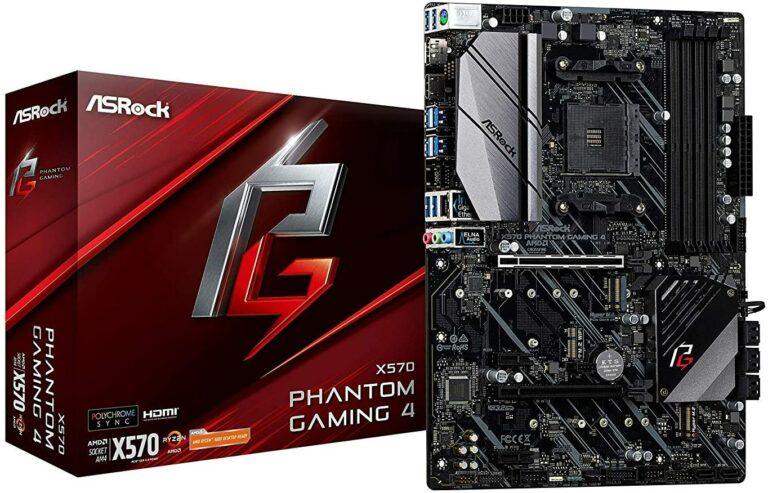 5. ASRock X570 Phantom Gaming X