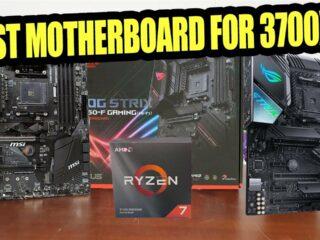 5 Best Ryzen 7 3700x (3800x) Motherboard [2021]