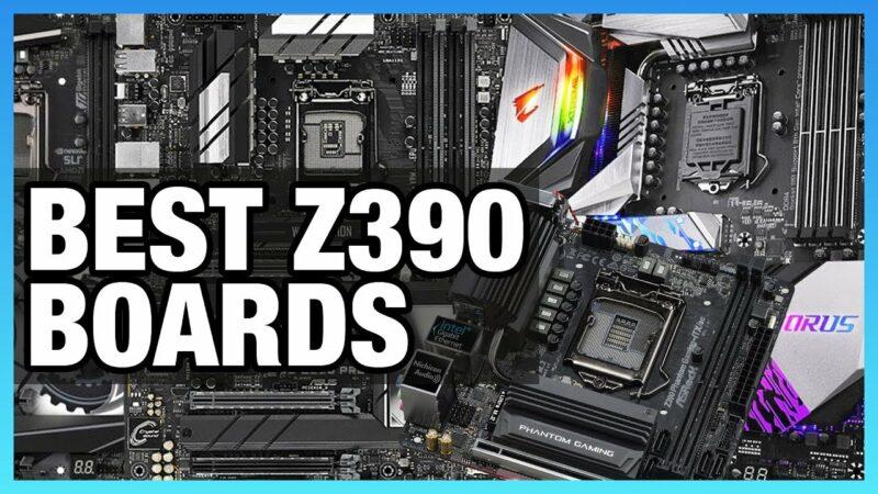 5 best motherboards z390