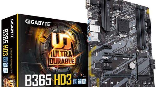 GIGABYTE B365 HD3 ATX motherboard